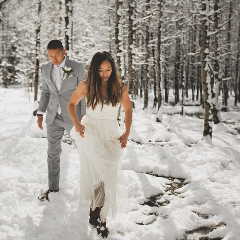 Elopement in Lake Tahoe, California