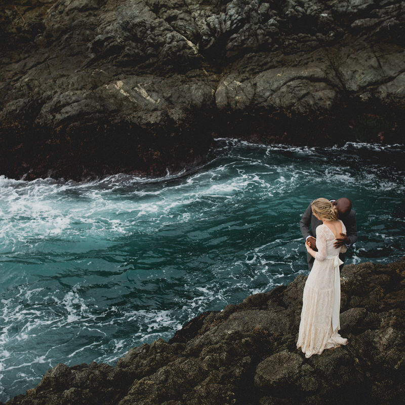 Elopement in Big Sur, California