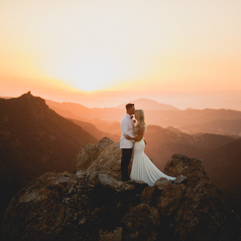Wedding in Malibu, California